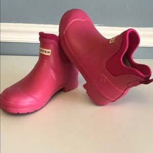 Hunter for Target Pink Rain Boots size 6